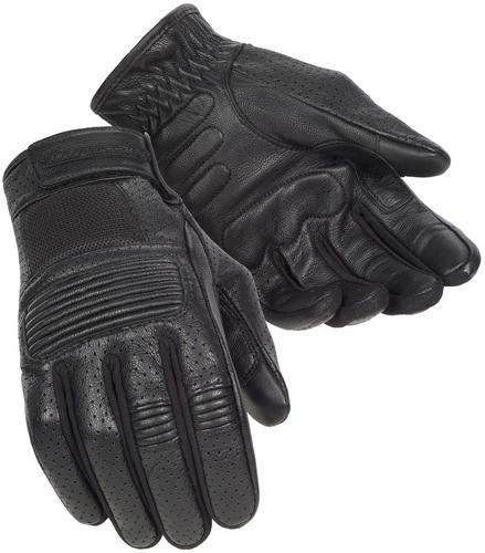guantes tourmaster summer elite 3 p/hombre cuero negro 2xl