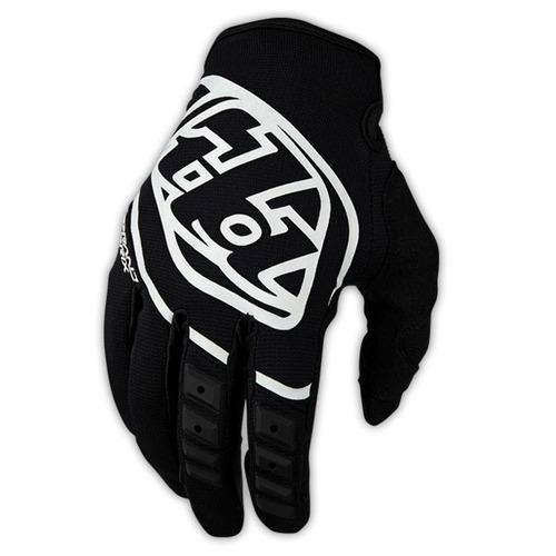 guantes troy lee designs gp 2016 hom. mx/off. neg/blanco sm