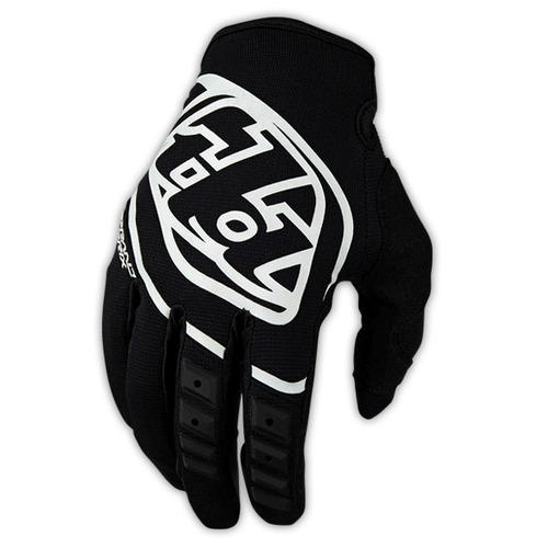 guantes troy lee designs gp 2016 mx/off., juv. neg/bco lg