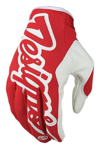 guantes troy lee designs se pro 2016 mx/offroad rojo md