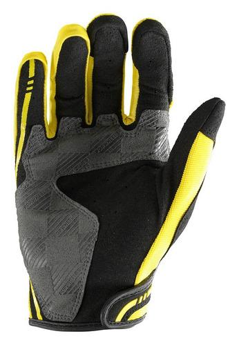 guantes troy lee designs xc mx/offroad hombre amarillo 2xl
