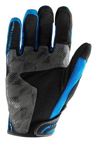 guantes troy lee designs xc mx/offroad hombre azul/md