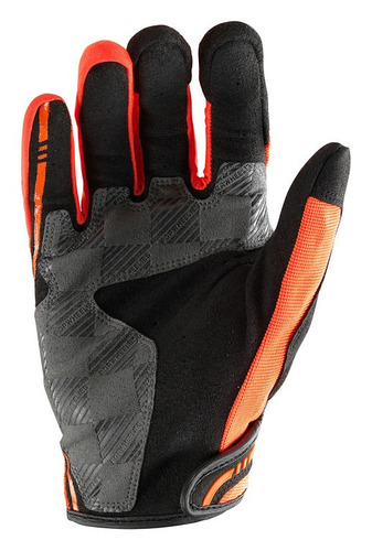 guantes troy lee designs xc mx/offroad hombre naranja md