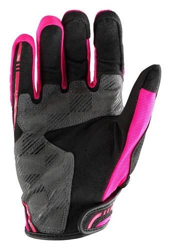 guantes troy lee designs xc mx/offroad hombre rosa lg