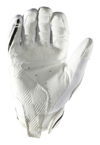 guantes troy lee designs xc mx/offroad mujer blanco sm