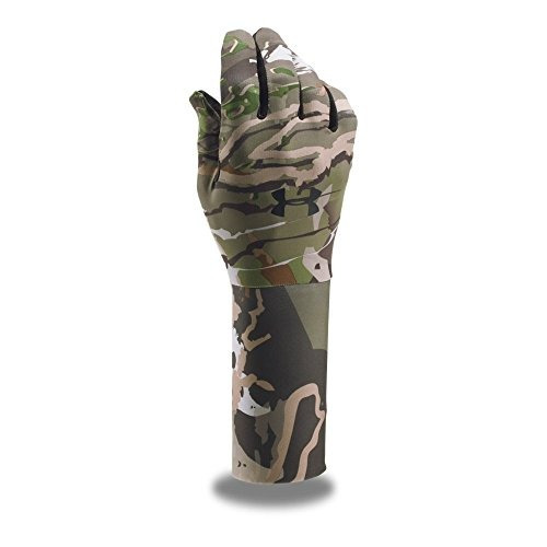 guantes under armour para hombres coldgear camo, ridge reape