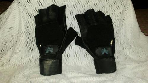 guantes valeo originales con muñequera y rodillera nike.