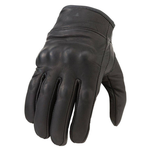 guantes z1r 270 hombre cuero no perforado negro sm