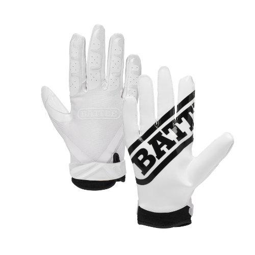guantes,battle ultra-stick guantes receptor, adulto larg..