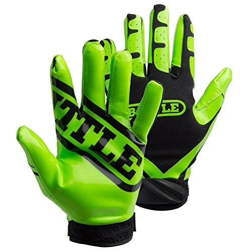 guantes,battle ultra-stick guantes receptor, adulto xx-l..