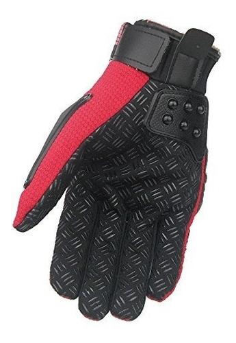 guantes,ilm aleación de acero moto de la motocicleta mot..