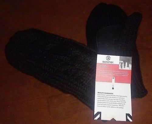 guantes/mitones isotoner casual mujer termico unitalla