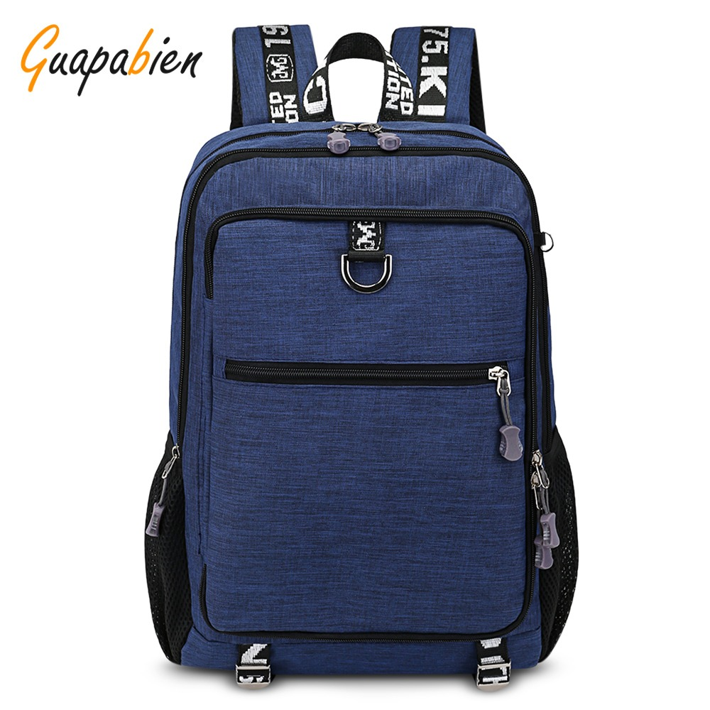 1ed3aa92b Guapabien Hombres 's Viajes Laptop Mochila - $ 831.27 en Mercado Libre