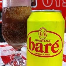guaraná baré pacote 12 latas + brinde frete grátis
