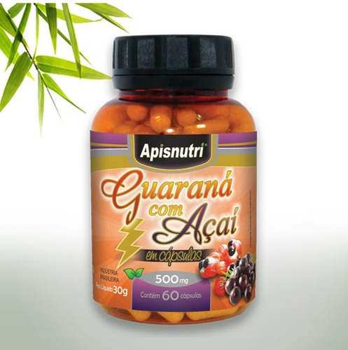 guarana com açai 500mg 120 capsulas!!!