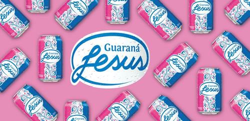 guaraná jesus lata 310ml pacote com 10un