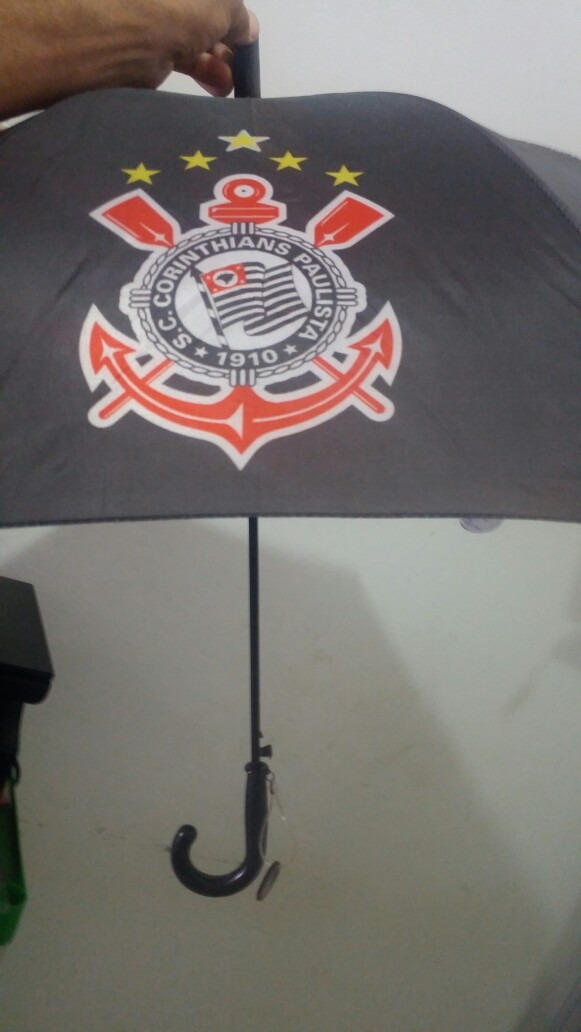 Guarda Chuva Corinthians Infantil Poderoso Timão 19   - R  39 1d0def855d5c4