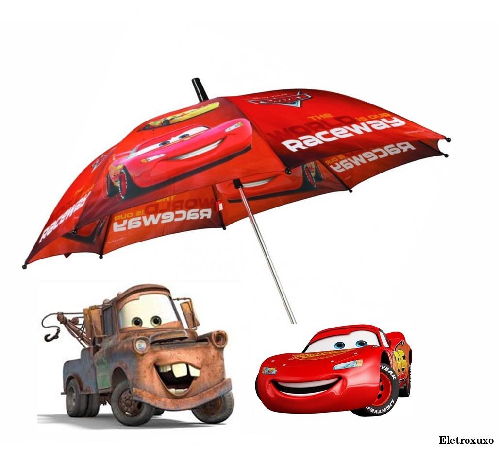 Guarda Chuva Infantil Desenho Carros R 29 97 Em Mercado Livre