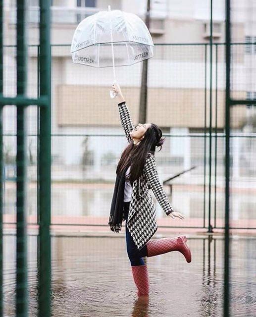 2b4c0b635 Guarda-chuva Késttou Transparente - R$ 129,00 em Mercado Livre