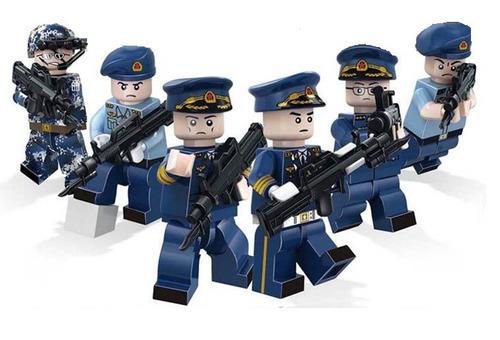 guarda civil municipal em miniatura.