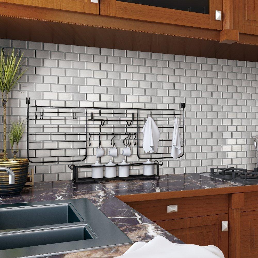 Guarda Cocina Baño Azulejos Pared Revestimiento Aluminio - $ 359,00 ...