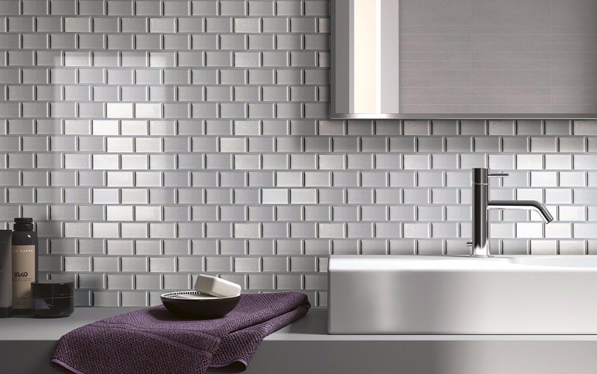 Guarda Cocina Baño Pared Aluminio Revestimiento Smart Tiles