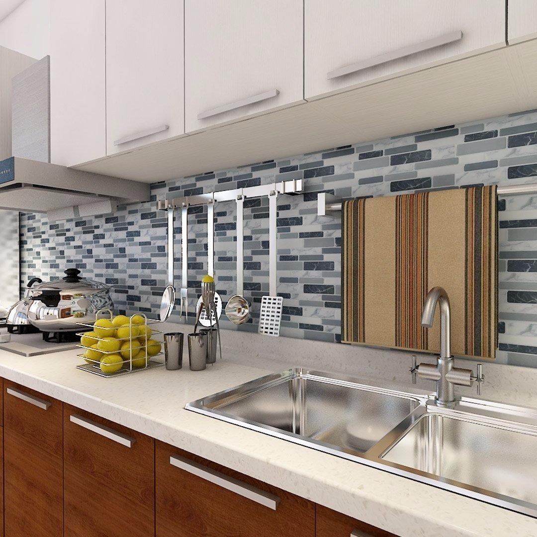 Guarda Cocina Baño Pared Azulejos Revestimiento Smart Tiles - $ 299 ...