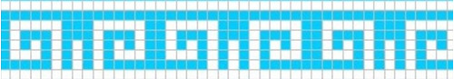 guarda griega venecitas biseladas 2x2 de pileta piscinas