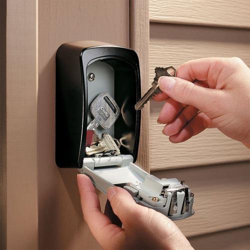 guarda llaves con combinación - candado