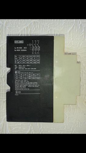 guarda motor gv3-m63 40amp-60amp
