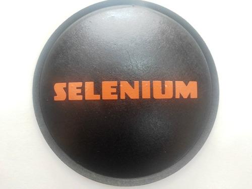 guarda pó protetor para alto falante selenium 120mm