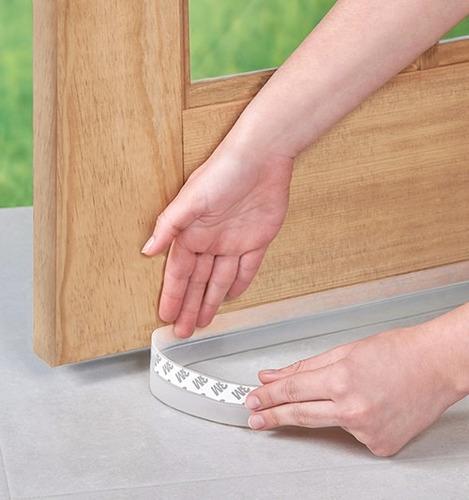 guarda polvo para puerta