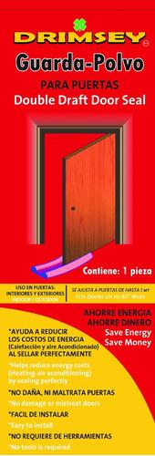 guarda polvo para puertas
