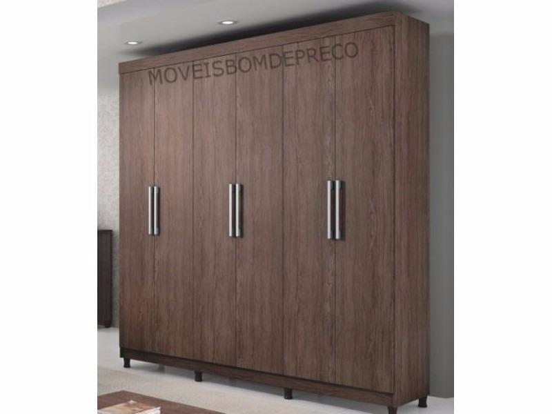 guarda roupa 100 mdf portas puxar berlim d doro m veis. Black Bedroom Furniture Sets. Home Design Ideas