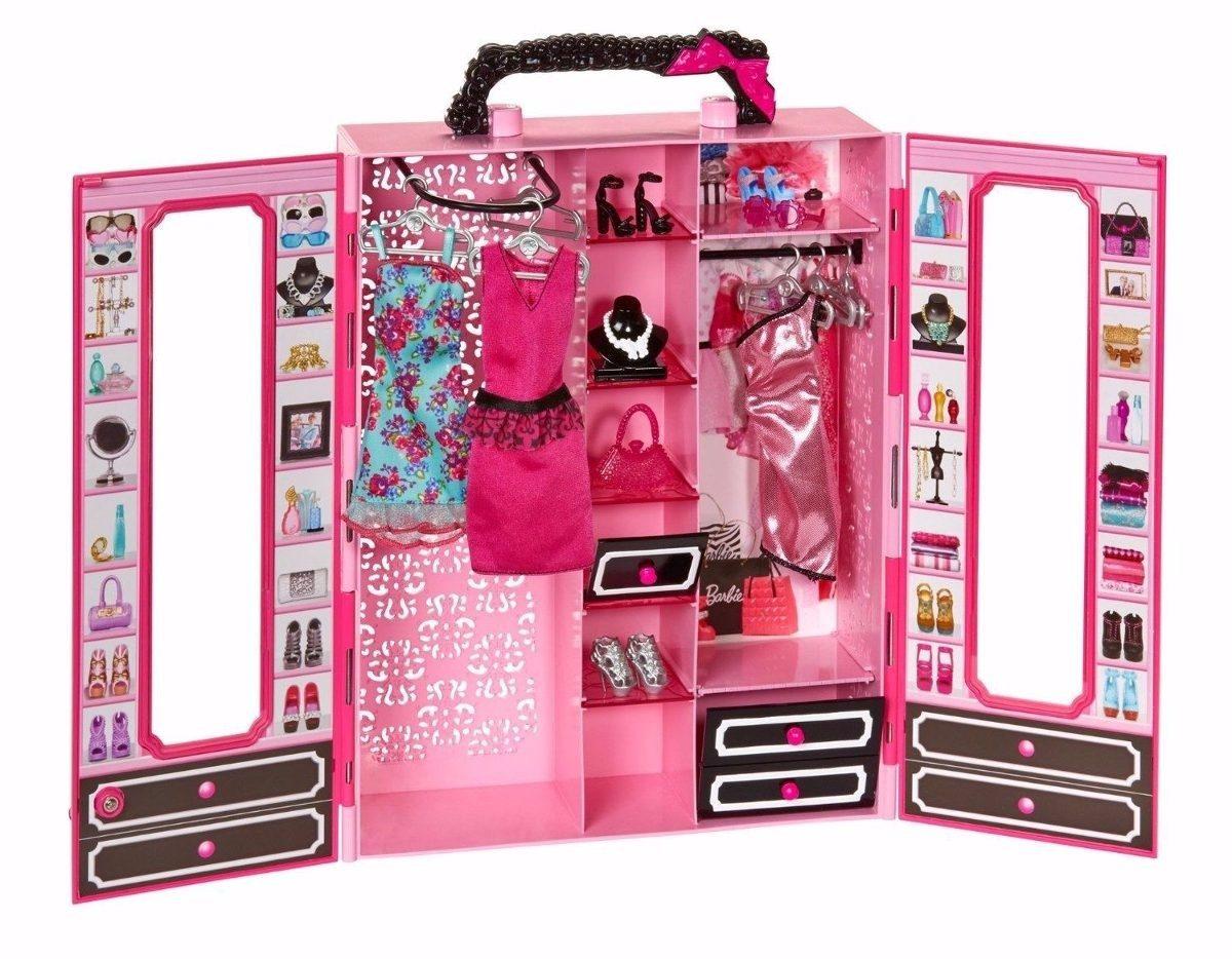 Guarda roupa arm rio closet de luxo da barbie acess rios r 455 99 em mercado livre - Camera da letto di barbie ...