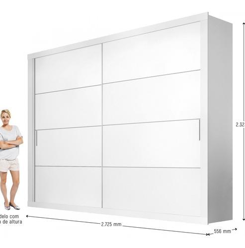 guarda roupa casal 2 portas de correr essencial siena bc