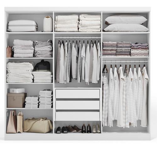 guarda-roupa casal kappesber h545 branco