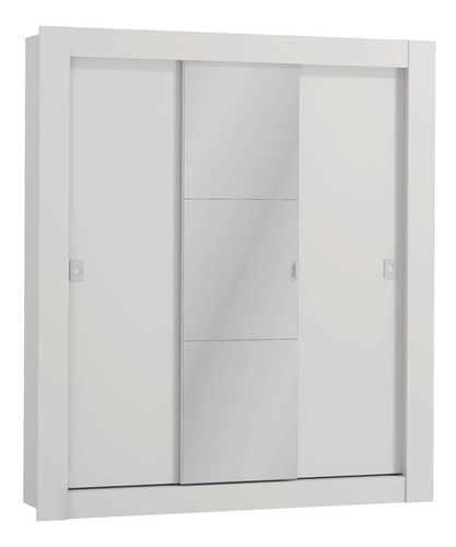 guarda roupa casal kappesberg c/ espelho 3 portas de correr