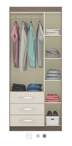 guarda roupa de solteiro (semi novo - poucos meses de uso)