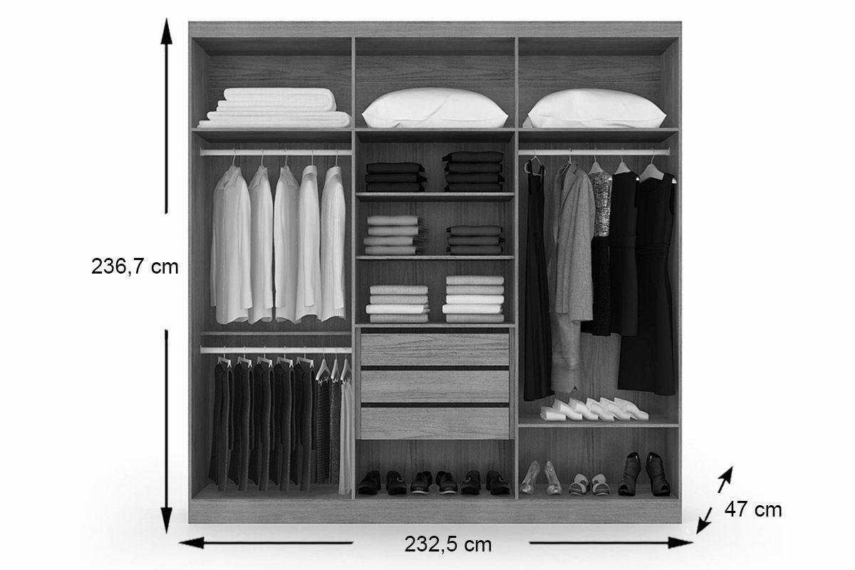 dcab6cd50 guarda roupa herval édez ph 1456 c  6 portas de abrir (modul. Carregando  zoom.