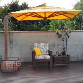 336b663a98fdc Guarda Sol Gigante Quadrado no Mercado Livre Brasil