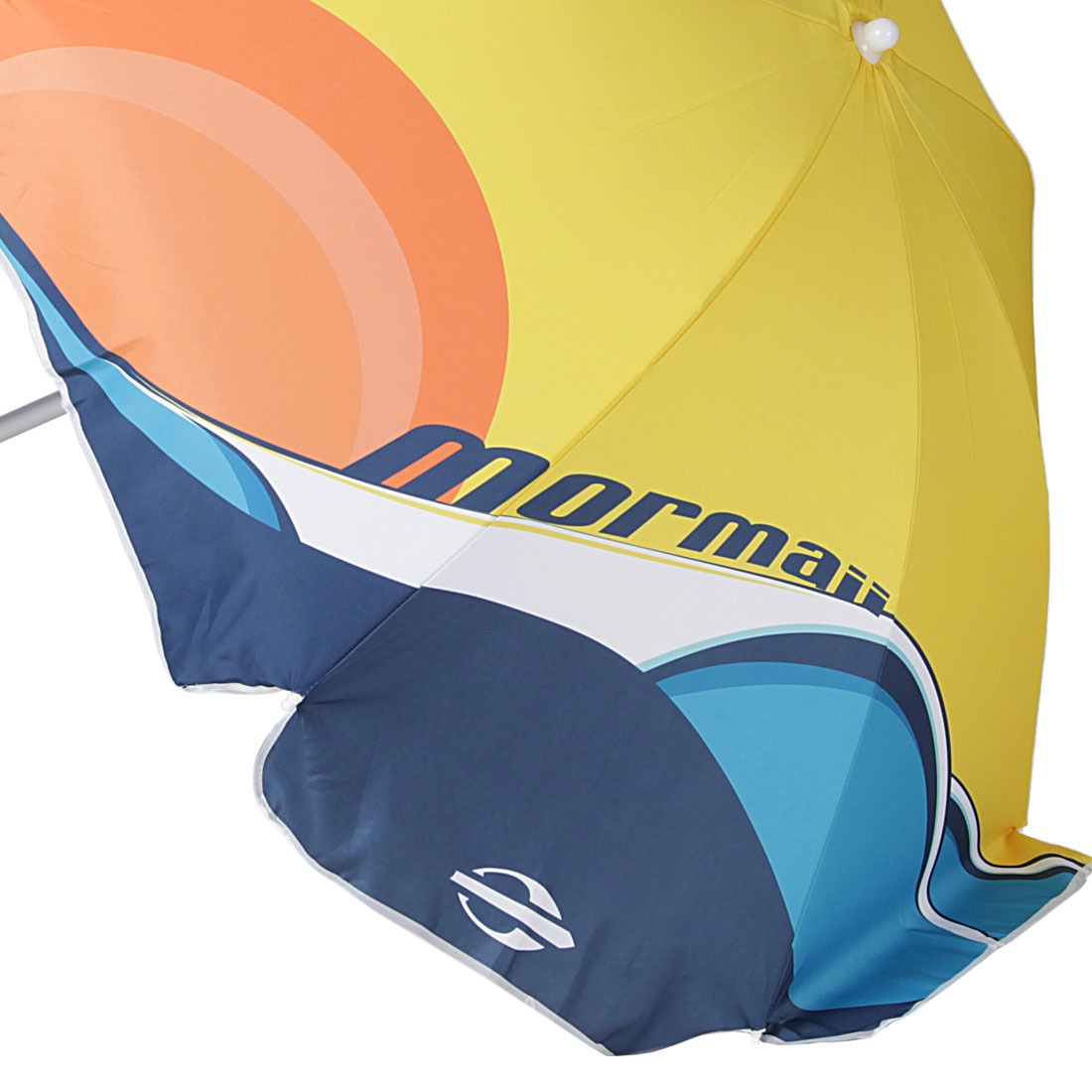 Guarda Sol 180cm Ondas Amarelo - Mormaii - R  99,90 em Mercado Livre 85473c567b