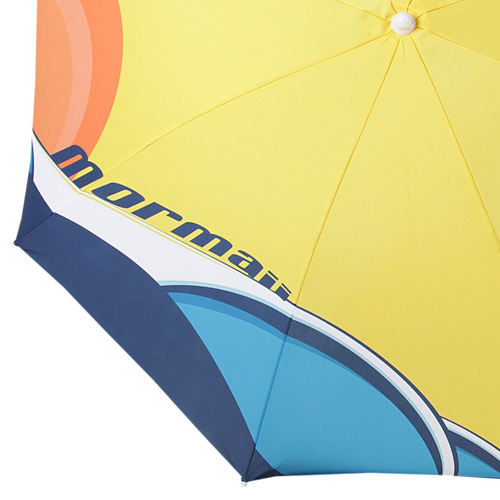 3f649ec932c62 Guarda Sol 180cm Ondas Amarelo - Mormaii - R  99,90 em Mercado Livre