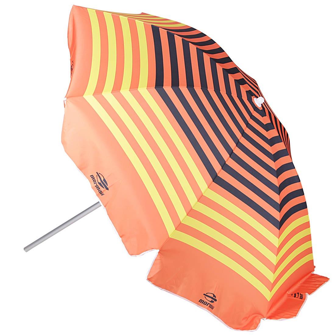 5d30106f24e3c Guarda Sol 220cm Preto laranja - Mormaii - R  129,90 em Mercado Livre