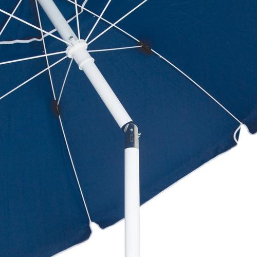guarda sol 2,5 m com manivela grande articulável 3727 - mor
