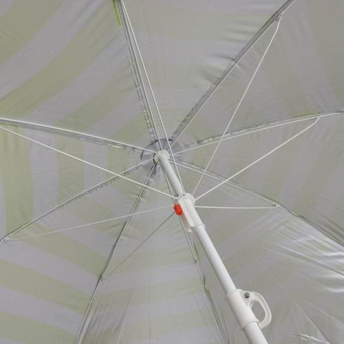 guarda sol benoá fnb180-01 n(gr) nylon 1,8 metros