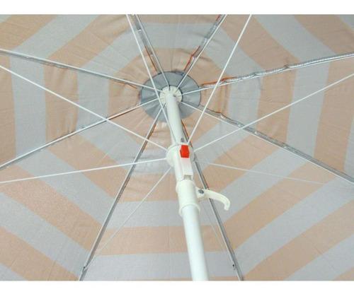 guarda sol benoá fnb180-01 n(or) nylon 1,8 metros