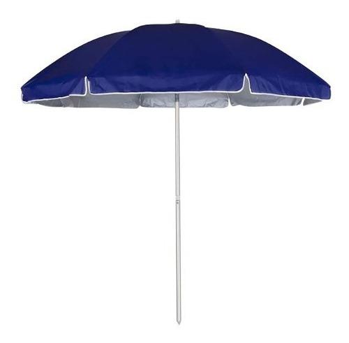 guarda sol com proteção fps 2.60m camping praia mor azul