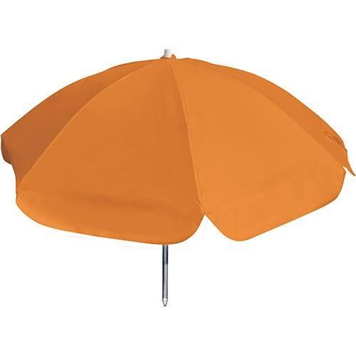 guarda-sol pvc/alumínio 100x8 laranja - botafogo