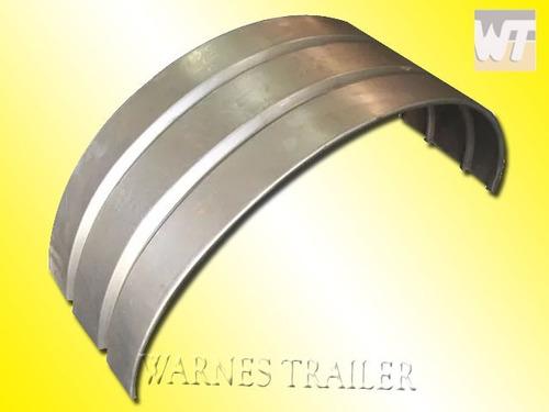 guardabarro  curvo para trailer rodado 14/15  p/ pintar